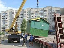 Снос киосков в Москве