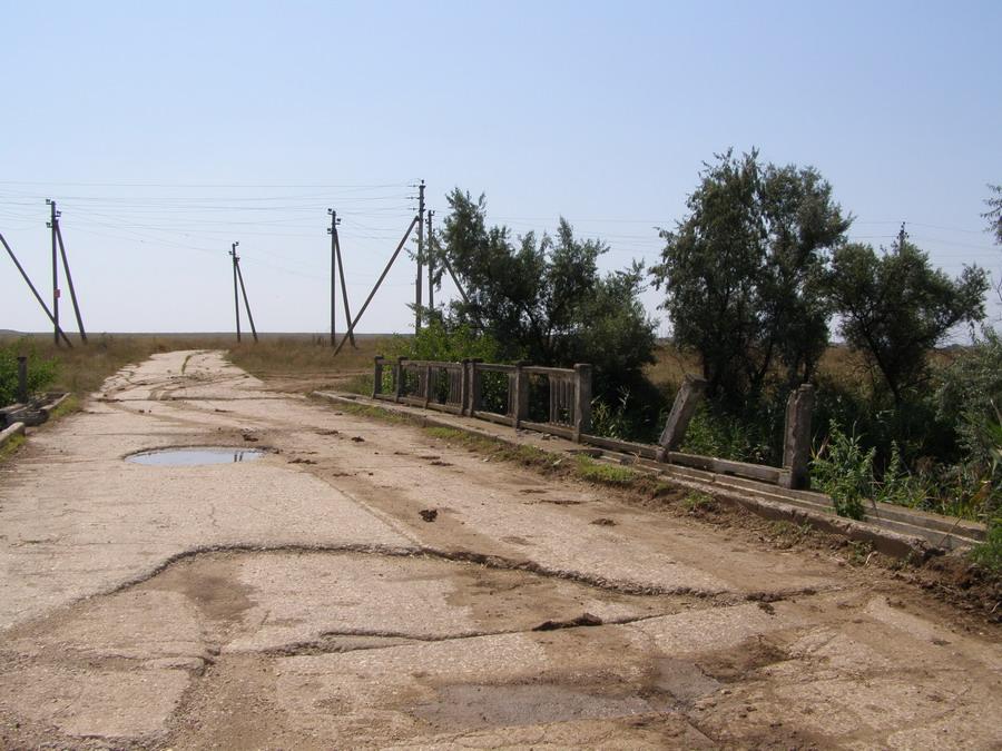 Демонтаж ветхих мостов